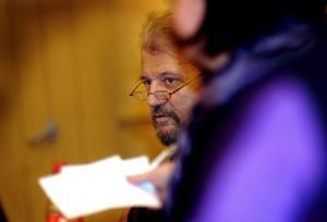 Kyrkorådets nye ordförande Peter Bernövall riskerar att få en undanskymd plats.