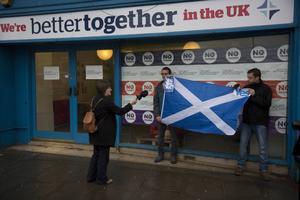 Skottlands nej till självständighet bäddar för striden om det brittiska EU-medlemskapet.