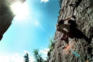 Målinriktad. Ödmjukhet och långsiktigt är vägen framåt, för bergsklättrare såväl som för företag. Arkivbild: Petter Koubek