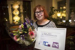Pia Boija blev Årets Västernorrlänning 2015 med nomineringen: