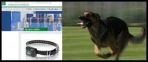 Hemsidan elhalsband.se säljer halsband och osynliga stängsel som ger hundarna elstötar. Sådana redskap är föbjudna i Sverige.