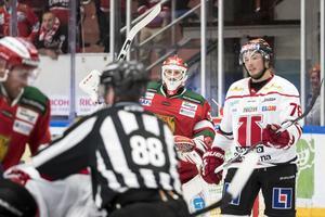 Christian Engstrand hoppas på tre nya pinnar under det andra mötet mot Örebro Hockey.