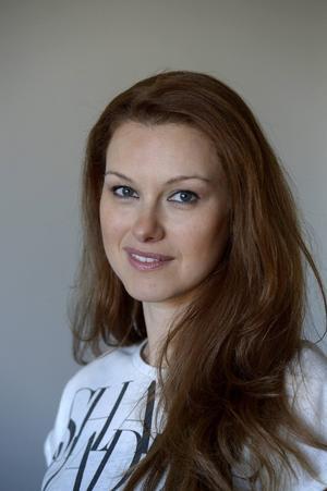 Paulina Draganja har ordning på grejerna och bloggar under namnet Förvaringsdrottningen.   Foto: Janerik Henriksson/TT