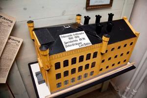 Gamla Cellfängelset från 1861 finns även som modell på Stadsmuseet.