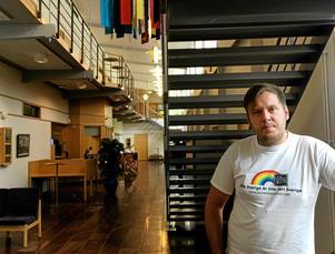 Henrik Johansson, grundare av sajten Inte rasist men...