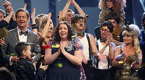 Talang. Sångerskan Jill Svensson, 14 år, blev årets vinnare av Talang 2010.