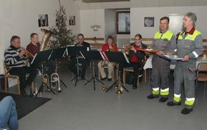 Julstämning på Stora Enso.