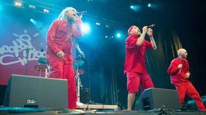 Looptroop Rockers spred kärlek till en hängiven publik.