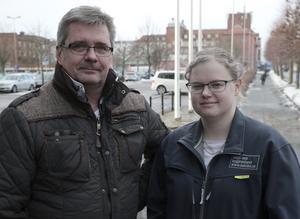 Livsmedelsinspektörerna Bo-Göran Fransson och Linda Grönkjär ser inte tisdagens event som en engångshändelse, utan starten till en ökad samverkan med livsmedelsföretagen.