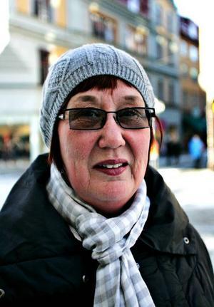 Marianne Nilsson, 56, Östersund:– Inte än, men nu ska det bli!