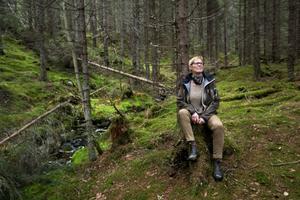 Elisabeth Wiklund är en av 39 procent kvinnliga skogsägare i Västernorrland.