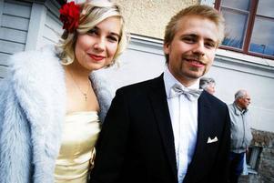 Daniel Alaputto och Paula Dahlin