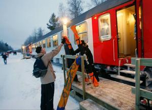 Slutstationen Röjan/Vemdalen ska trafikeras med nya miljoner till vintern.