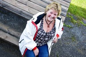Karin Paulsson är förstanamn på Socialdemokraternas lista i Berg och tillika oppositionsråd.