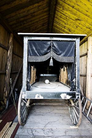 4. Mellan 1905 och 1947 tjänade den här likvagnen sex byar.