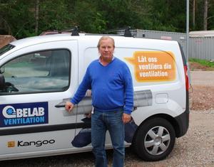 Per-Erik Kjellberg har jobbat i företaget sedan 1988. Nu behöver personalstyrkan utökas.
