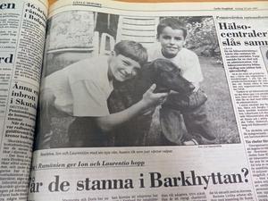 Gefle Dagblad 16 juli 1991