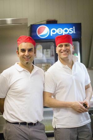 Mohammed Palani och Goran Ali var nöjda med premiären.
