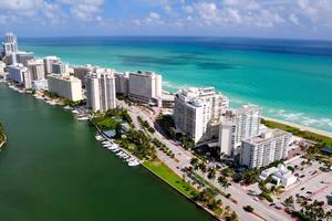 Miami är känd för sitt uteliv. Men där finns också en stark hälsotrend.