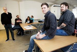 Ny chans. Kan folkhögskolekurser kan ge unga arbetslösa nya chanser. Bilden visar en sådan satsning.Foto: VLT:s arkiv