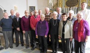 Svärdsjös 80-åringar hyllades i kyrkan på söndagen.