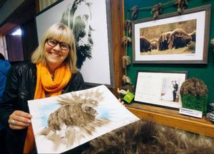 Braständaren Härje levereras i kartong med omslag som pryds av en myskoxe som härjedalsbördiga konstnärinnan Yvonne Ohlsson Söderholm, målat efter ett foto av Jan Eriksson i Funäsdalen.