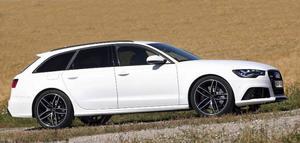 Audi RS6 säljs bara i Avant-utförande, det vill säga som kombi.Foto: Rolf Gildenlöw/TT