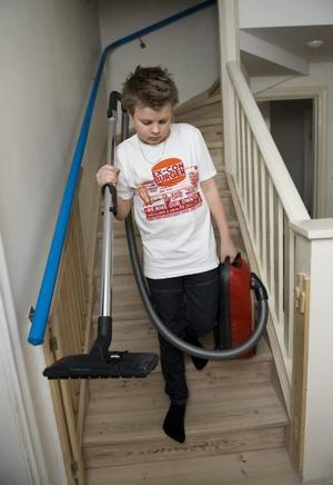 Ibland kan lite barnarbete vara bra.