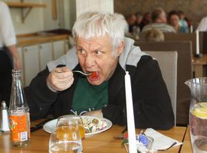 Stig-Lennart Törnqvist från Norrköping hade aldrig varit på liknande kalas förut.