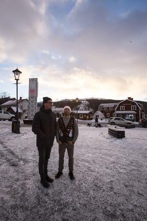 Janne Werkelin och Niklas Edbjörk är med i Trygg i Åres styrgrupp.