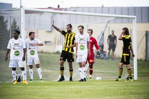 Matchens första och enda mål kom i den 42 matchminuten, målgörare i matchen var Marcus Englund.