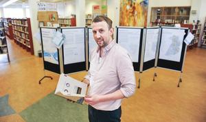Under tisdagen kan allmänheten träffa samhällsplanerare Erik Nordgren på biblioteket i Kulturhuset.