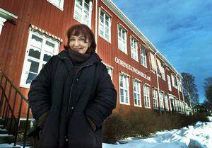 Hemma i Östersund igen och Kim Anderzon guidar ÖP i de gamla barndomskvarteren. I Odenslundsskolan hade hon sin skolgång. – Ens rötter är viktiga. Där är man sitt rätta jag, säger Kim Anderzon, som hämtar kraft och inspiration när hon är hemma i Östersund.