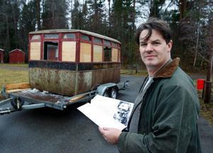 """""""Det finns gamla artiklar om bussen och bevarade ritningar som vi kan använda vid renoveringen"""", berättar Henrik Tungsten från Jamtli."""