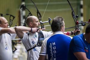 Andreas Skalberg från Färila laddar fortfarande för att ta en OS-plats till Rio i sommar.