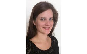 Sofie Waltersson är ny ordförande i Vänsterpartiet Rättvik. FOTO: KARIN NETZELL