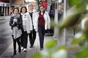 ALV med Angelica Nettelbladt, Monica Nettelbladt, Madde Klingberg och Elizabeth Sahlén Karlsson.