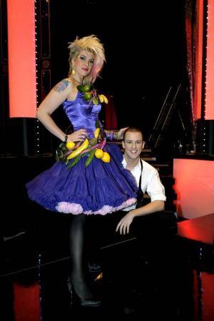 Anders Jacobsson och Kitty Jutbring är ett av tolv par som tävlar i Let's Dance.