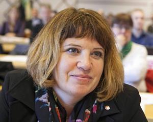 Åsa Sjödén (S) svarar både för och emot region från 2017