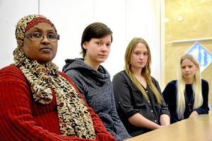Emmelina Bard var en av de fem eleverna från Fellingsbro folkhögskola som gjorde praktik i Novgorod, Ryssland.