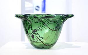 Caroline Eklunds glas.