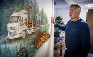 Mitt X är ett verkstadsföretag i Färila som bland annat tillverkar sidoskydd till timmerbilar.
