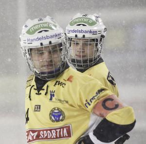 Magnus Fryklund och Jesper Öhrlund.