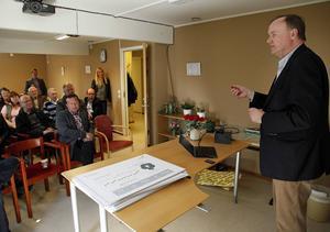 Urban Bäckström gratulerade Kramfors kommun till framgången i näringslivsrankingen.