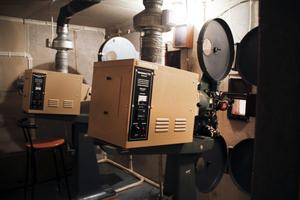 De gamla projektorerna är snart uträknade.