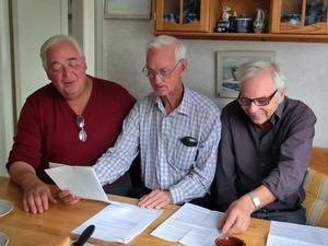 Bechterewgruppen Sune Gärdlund, Rolf G. Swedbergh och Leif Avén