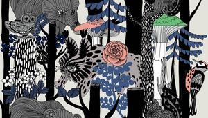 Ny design. Marimekko grundades 1951 av Armi Ratia i Helsingfors. Inför 100-årsdagen av Finlands självständighet har Marimekko lanserat ett mönster som heter Veljekset, designat av Maija Louekari. Mönstret heter Brothers pattern och  är inspirerat av finländska folkdanser och visar starka och uttrycksfulla skogsdjur och vilda exotiska folk, skriver Marimekko.