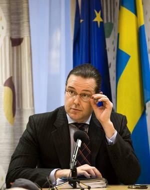 Finansminister Anders Borg, M.