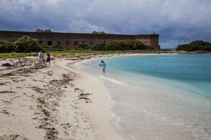 Bad och snorkling är toppen på Dry Tortugas.