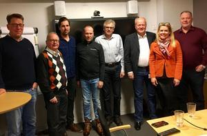 Politiker och näringsliv träffades i Sveg för att diskutera infrastruktur med anledning av riksdagsledamoten Per Åslings motion.